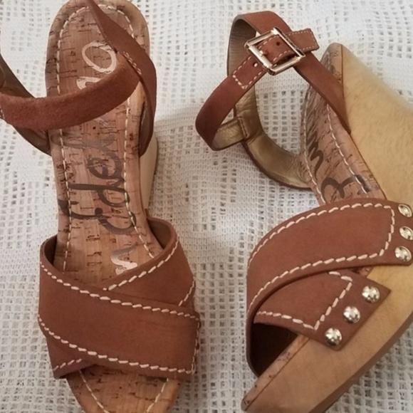 d7a178e68ba66c Sam Edelman Cairo Wedge Sandals. M 5a5934e845b30c3124aa991d